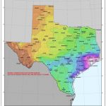 Updated NOAA Texas Rainfall Data